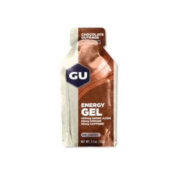 GU Energy Gel Chocolate Outrage JetBlack Products