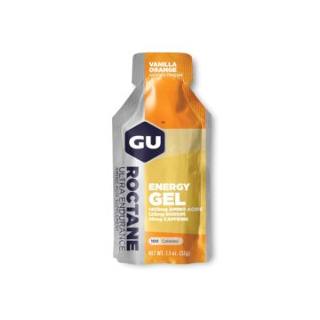 GU Energy Gel Roctane Vanilla Orange JetBlack Products
