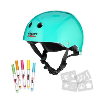 Wipeout Helmet Teal 1 Jetblack Products